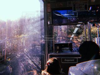 家族,親子,子供,箱根,ケーブルカー,片道列車