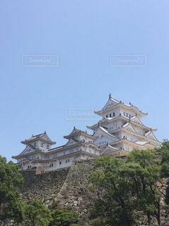 姫路城の写真・画像素材[1046015]