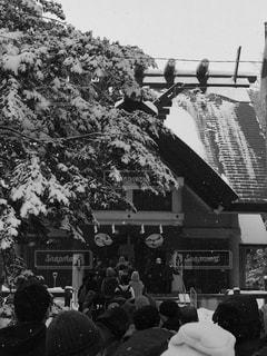 雪の初詣 - No.963680