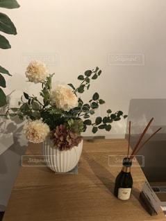 花,屋内,オブジェ,休日,アロマ