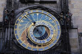 チェコの天文時計の写真・画像素材[1843375]