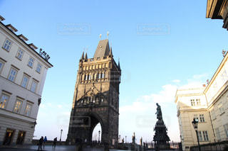 空,建物,冬,屋外,ヨーロッパ,レトロ,観光,旅行,アーチ,プラハ,チェコ,海外旅行,歴史,通り,日中,フォトジェニック,インスタ映え