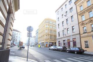 プラハの通りの写真・画像素材[1843400]