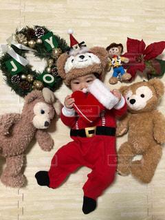 冬,クリスマス,サンタクロース,サンタ,赤ちゃんサンタ