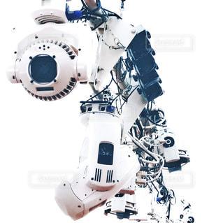 吊るされた機械の写真・画像素材[2795916]