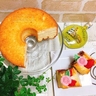 レモンのシフォンケーキサンド - No.1068659
