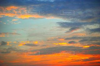 夕焼け空の写真・画像素材[972131]