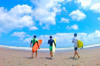 平成最後のサーフィンの写真・画像素材[1449102]