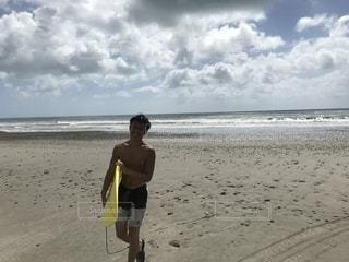 サーフィンと太陽☀️の写真・画像素材[1449122]