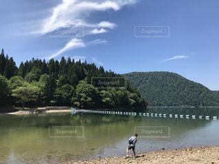空,夏,青空,暑い,ポートレート,福島県,晴れの日,会津若松市