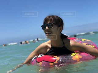 ハワイの海の写真・画像素材[1394241]