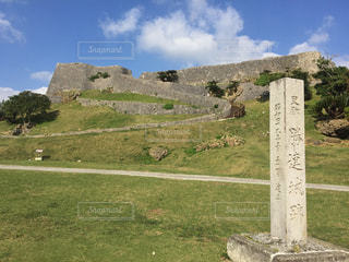 勝連城跡の写真・画像素材[1042489]