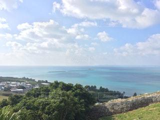 勝連城跡からの海の写真・画像素材[1042501]