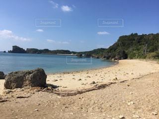 沖縄県浜比嘉島のビーチ2の写真・画像素材[1042517]