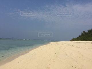 沖縄県瀬底ビーチの写真・画像素材[1042570]