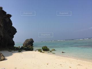 沖縄県瀬底島の瀬底ビーチ2の写真・画像素材[1042593]