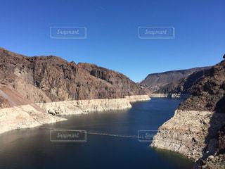 アメリカフーバーダムの青空の写真・画像素材[1096017]