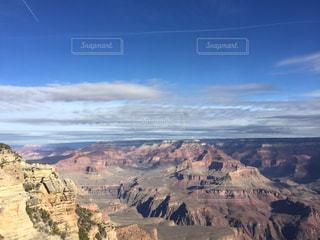 アメリカグランドキャニオンの青空の写真・画像素材[1096319]
