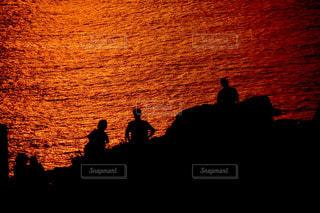 石垣島の夕焼けの写真・画像素材[969776]
