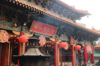 香港で初詣⛩の写真・画像素材[969785]