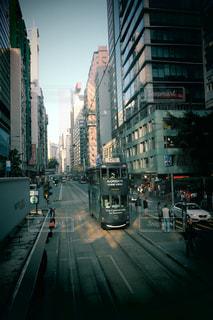 路面電車,香港,海外旅行,二階建て,トラム