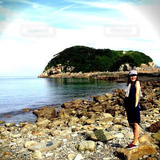 海,夏,長崎県,五島列島,小値賀島