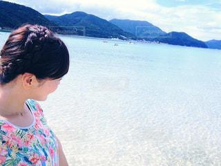 海,夏,九州,長崎県,五島列島,遠浅,上五島,蛤浜