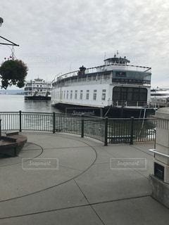 海,船,アメリカ,旅行,港