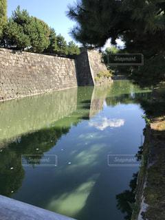 二条城のお堀の写真・画像素材[1013757]