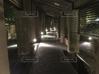 ホテル内の通路の写真・画像素材[1023244]