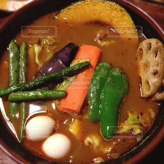 スープカレーの写真・画像素材[1037624]