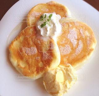 パンケーキの写真・画像素材[1077041]