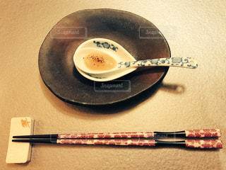 定山渓・翠蝶館のディナーの写真・画像素材[1085884]