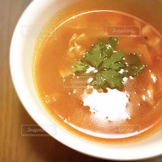 野菜たっぷりミネストローネの写真・画像素材[1085930]