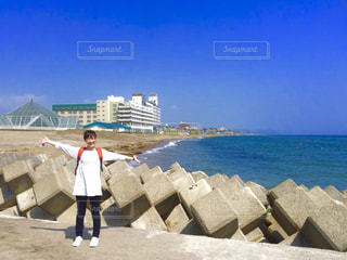 函館の海の写真・画像素材[1100289]