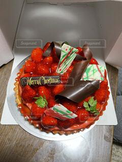 いちごのタルトケーキの写真・画像素材[3999008]