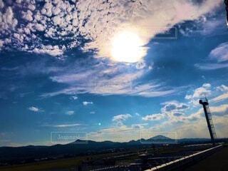 空港からの景色の写真・画像素材[4133002]