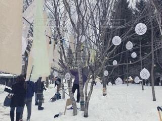 2月にやる冬の音楽フェスの写真・画像素材[4200442]