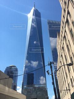 ニューヨーク、ワンワールドトレードセンターの写真・画像素材[1021424]