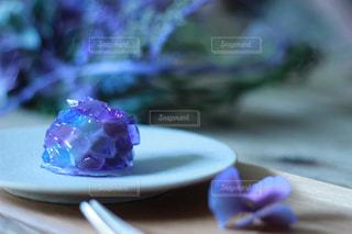 お花教室で頂いた自家製和菓子の写真・画像素材[2254771]