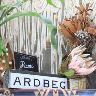 ardbegとドライフラワーの写真・画像素材[2821288]