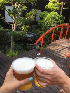 湯上りビール最高!の写真・画像素材[995449]