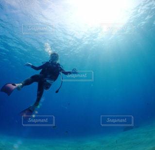 自然,風景,アウトドア,海,砂浜,沖縄,女の子,水中,人,旅行,休日,ダイビング,慶良間諸島,眺め,お出かけ