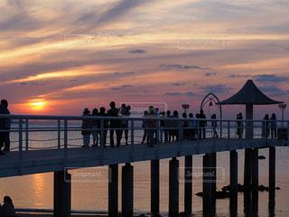 フサキリゾートからの夕焼けの写真・画像素材[1261601]