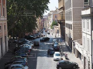 ローマの車道の写真・画像素材[1265257]