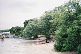 海,空,ビーチ,フィリピン,フィルム,海外旅行