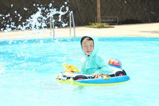プール遊びの写真・画像素材[1716973]