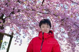 男性,30代,桜,花見,お花見,白鳥,香川県,河津桜,さくら,東かがわ市,湊川