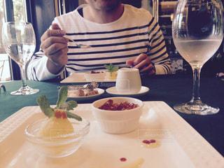 記念日のお食事の写真・画像素材[1261258]