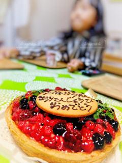 バースデーケーキの写真・画像素材[1668417]
